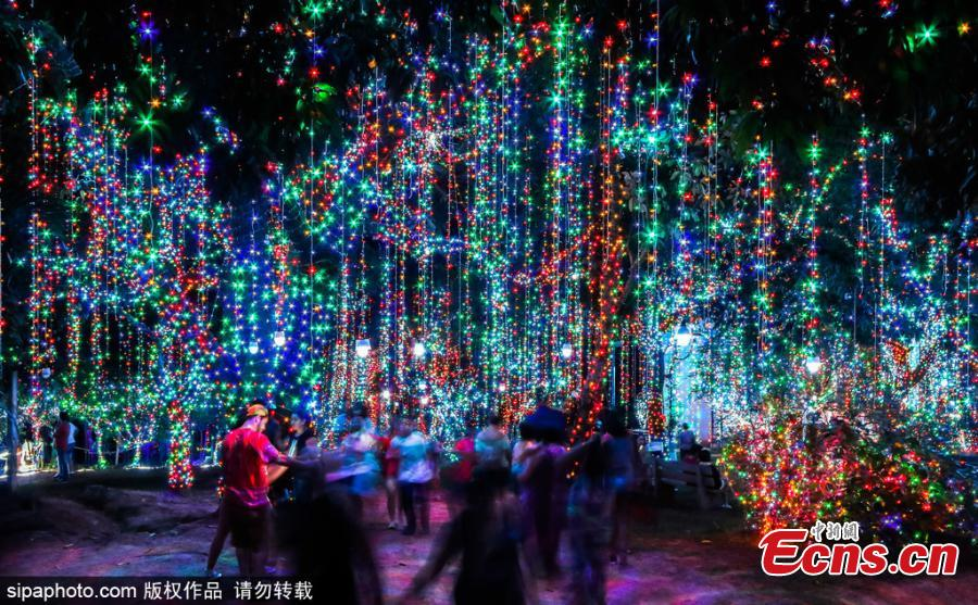 Christmas In Brazil.The Largest Private Christmas Theme Park Lights Up