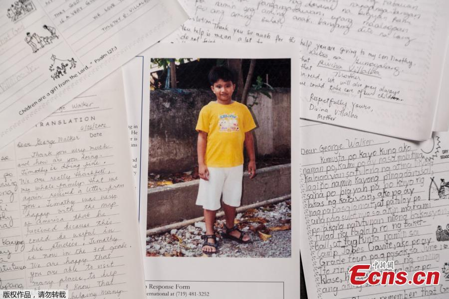 A handout image released by Compassion international, a U.S.-based non-profit organization which utilizes local churches to assist children in poor communities around the world, showing exchanges between late former U.S. President George H.W. Bush and a young boy in the Philippines whom Bush secretly sponsored for ten years through the organization in Colorado Springs, Colorado, USA, issued on Dec. 19, 2018. The sponsorship was kept secret and Bush used the pseudonym George Walker but while details in the letters did hint at his real identity such as a photo and name of the former president\'s dog and other info, his real identity was never discovered. Reports indicate the former president\'s office has confirmed the validity of the letters. (Photo/Agencies)