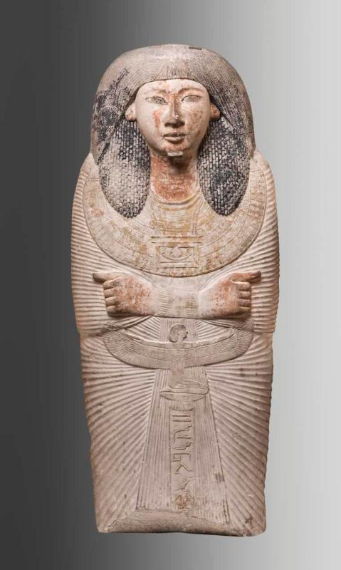 A total of 235 pieces of cultural relics of ancient Egypt, including mummies, stone caskets, amulets and godly statues, and dating back to the period between 22th century BC and 1st century BC, are on show at Guangdong Museum in Guangzhou. (Photo provided to China Daily)  A total of 235 pieces of cultural relics of ancient Egypt, including mummies, stone caskets, amulets and statues of gods, are on show at Guangdong Museum in Guangzhou.  The exhibits are dated from 22th century BC to 1st century BC, showcasing the daily life, religious beliefs and funeral culture of ancient Egyptians.  They bear the ancient Egyptians\' tribute to life, worship of gods, bravery in face of death and wish for eternity, according to the museum.  The precious relics come from Egyptian Museum of Turin, Italy the first Egyptian Museum to be established and which boasts the second-largest number of Egyptian relics in the world.  The exhibition will last till March 20 and the museum will also hold lectures on Egyptian culture.