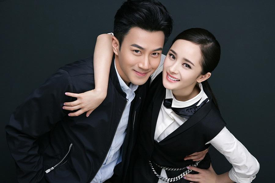 Hawick Lau and Yang Mi (Photo provided to chinadaily.com.cn)