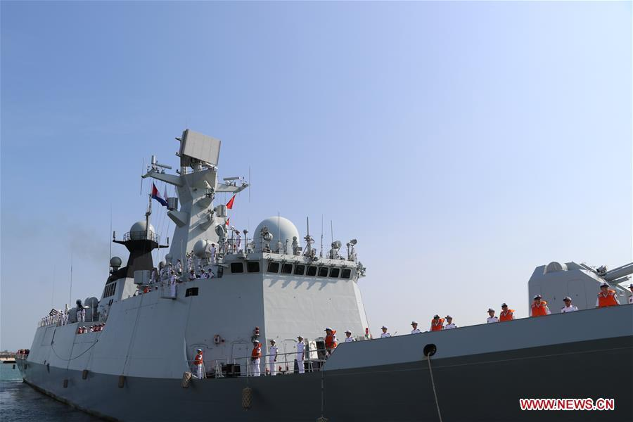 China\'s missile frigate \