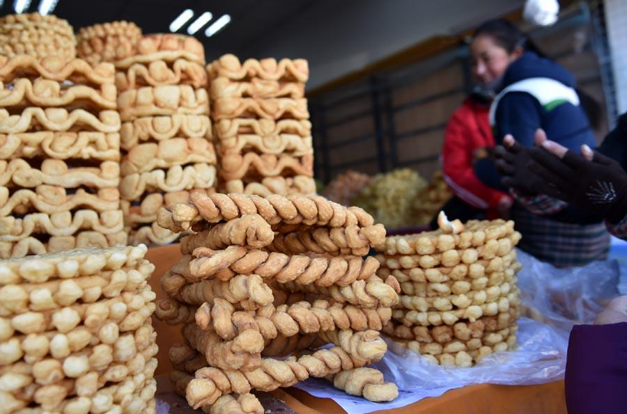 Tibetan pastry \