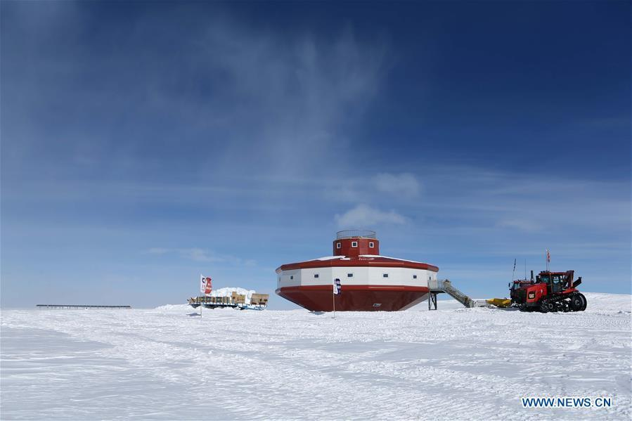 Photo taken on Jan. 31, 2019 shows the Taishan station in Antarctica. (Xinhua/Liu Shiping)