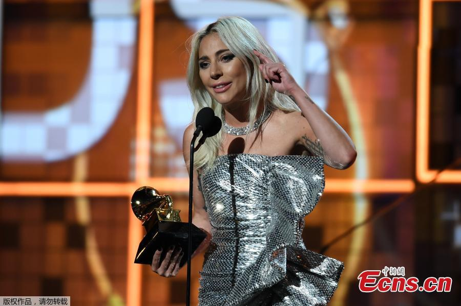 Lady Gaga wins Best Pop Duo/Group Performance for \