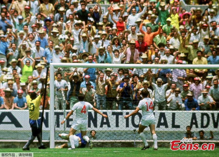 Gordon Banks saved a header from Pele in the 1970 World Cup. English soccer club Stoke said that World Cup-winning England goalkeeper Gordon Banks has died at 81. (Photo/Agencies)