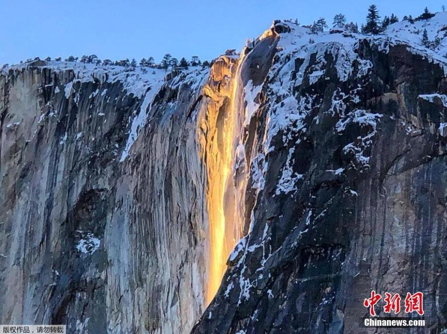 Photographers in Yosemite National Park encountered the natural phenomenon known as \