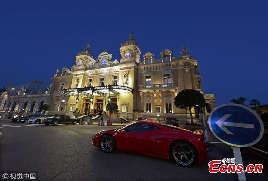 A view of the Monte Carlo Casino on April 9, 2014. (Photo/VCG)