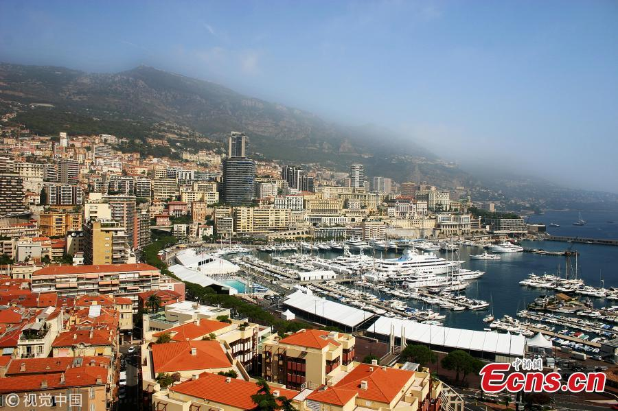 Photo taken on Sept. 6, 2006 shows Monaco, a city-state in Europe and the second smallest country in the world. (Photo/VCG)
