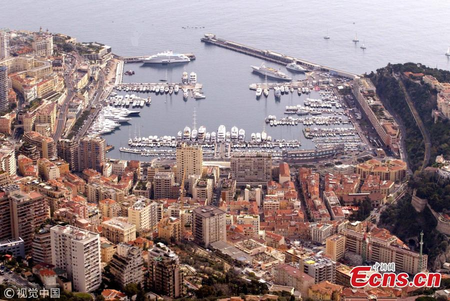 Monaco, a city-state in Europe and the second smallest country in the world. Photo taken on Sept. 17, 2010. Monaco is known for its upscale casinos, yacht-lined harbor and prestigious Grand Prix motor race. (Photo/VCG)