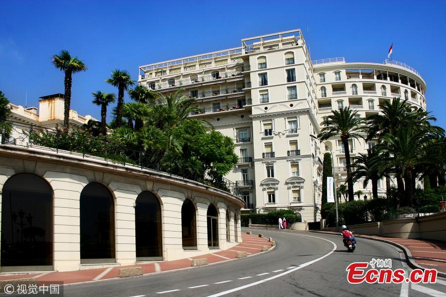 Photo taken on Sept. 6, 2006 shows the race track of the Monaco Grand Prix, one of the original Formula One Grands Prix tracks. (Photo/VCG)