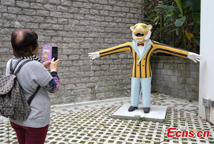 Visitors at Haw Par Music, which has revitalised the former Haw Par Mansion and its private garden, April 1, 2019. Together with Tiger Balm Garden, the whole compound was built in the 1930s by Aw Boon Haw, who was known as \