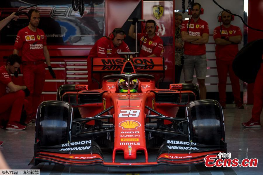 Michael Schumacher S Son Mick Shines In First F1 Test Drive For Ferrari