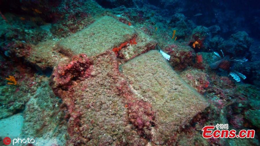 Turkish archaeologists have found a 3,600-year-old shipwreck, which could be the oldest one in the world, off the shores of southern Turkey\'s Antalya province, Anadolu Agency reported Monday, April 8, 2019.The shipwreck, dated back to 1600 B.C. in Bronze Age, was discovered off the coast of the Mediterranean by an underwater research team from Akdeniz University.(Photo/IC)
