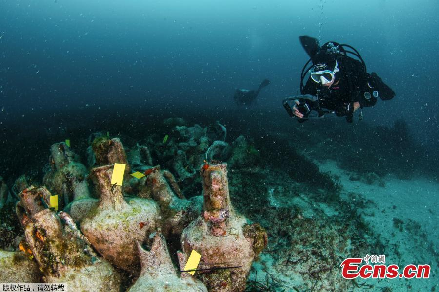 The first underwater museums in Greece will be in Alonissos and Pagasitikos. Four shipwrecks, dating from the Classical to the Byzantine periods, will become underwater museums, thus combining diving with antiquities.(Photo/Agencies)