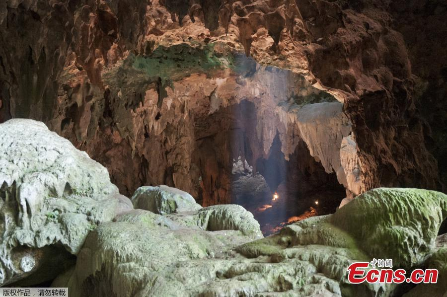 Photo shows Callao Cave in northern Luzon, where the fossils were found. (Photo/Agencies)