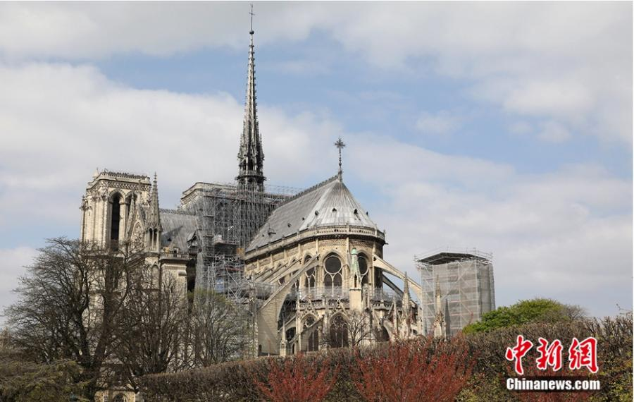 File photo shows the view of the Notre-Dame Cathedral in Paris. (Photo/Agencies)