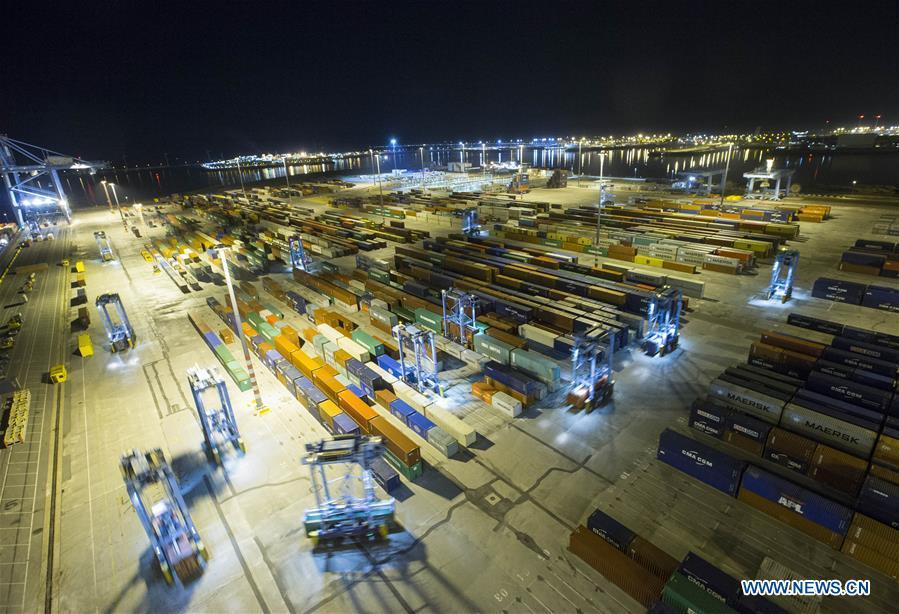 <?php echo strip_tags(addslashes(A photo taken on Oct. 15, 2018 shows Zeebrugge Terminal in Zeebrugge, Belgium. (Photo/Xinhua)