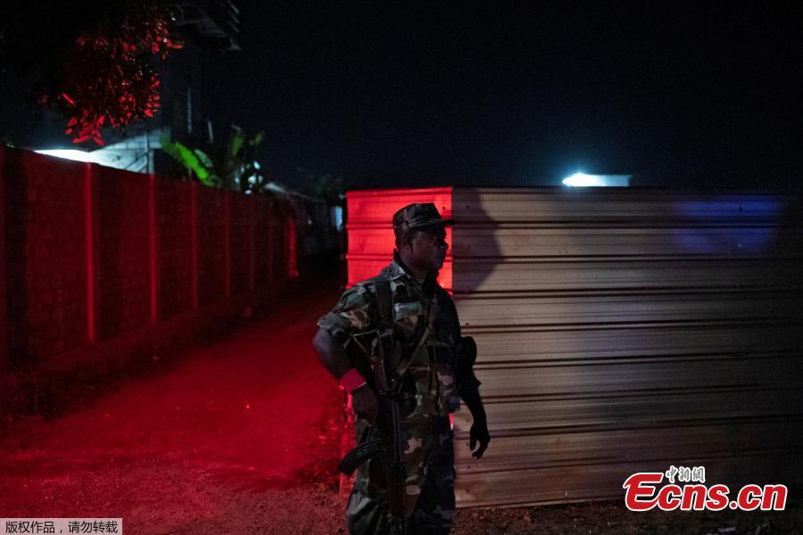 A soldier stands guard outside a training camp allegedly linked to Islamist militants, in Kattankudy near Batticaloa, Sri Lanka, May 5, 2019. (Photo/Agencies)