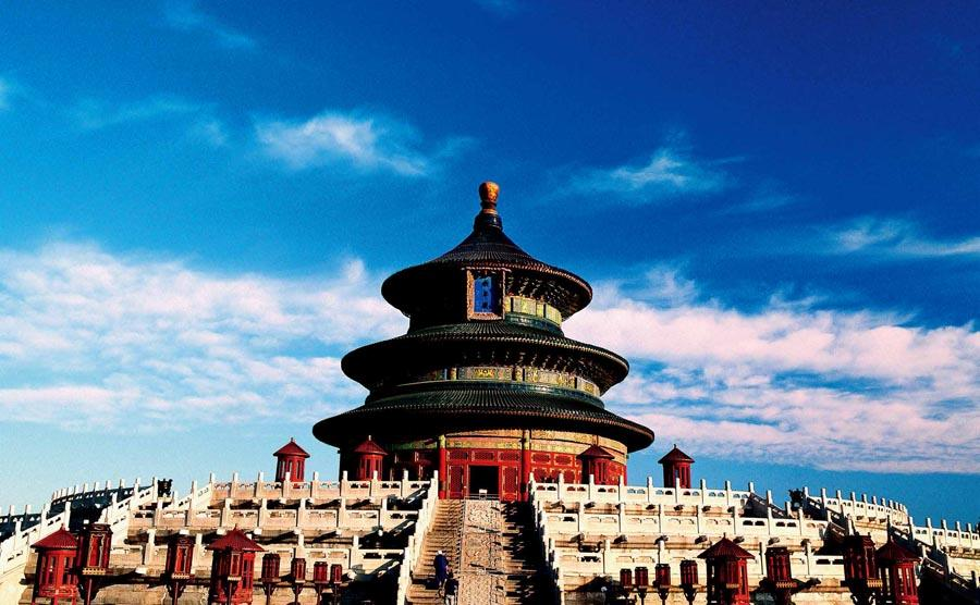 Temple of Heaven, Beijing.   (Photo provided to chinadaily.com.cn)