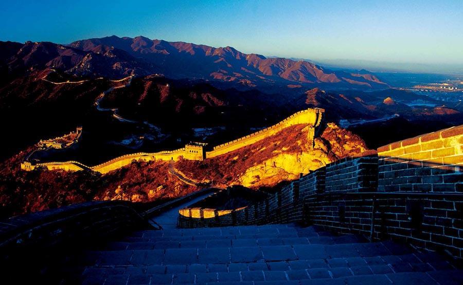 The Great Wall at Badaling, Beijing.  (Photo provided to chinadaily.com.cn)