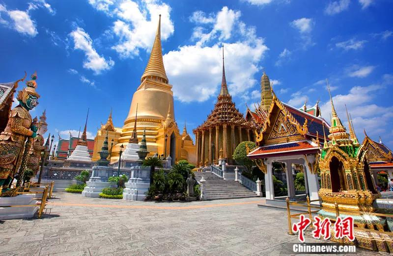 File photo shows the Wat Phra Kaew or the Temple of the Emerald Buddha (officially known as Wat Phra Sri Rattana Satsadaram) in Thailand. (Photo/VCG)
