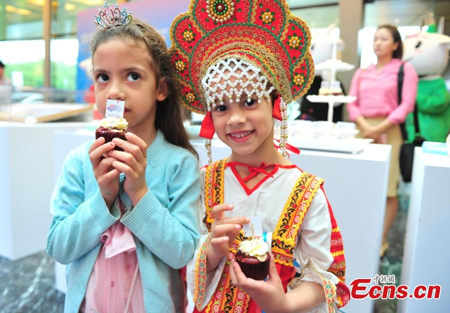 The Asian Cuisine Festival - Taste of Hangzhou opens in Hangzhou City, Zhejiang Province, May 15, 2019. Several cities in China have hosted the Asian Cuisine Festival as part of celebrations for the Conference on Dialogue of Asian Civilizations held in Beijing this week. (Photo: China News Service/Zhang Yin)