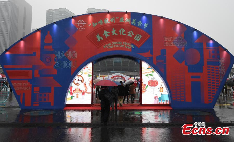 The Asian Cuisine Festival - Taste of Hangzhou in Hangzhou City, Zhejiang Province, May 15, 2019. Several cities in China have hosted the Asian Cuisine Festival as part of celebrations for the Conference on Dialogue of Asian Civilizations held in Beijing this week. (Photo: China News Service/Wang Gang)