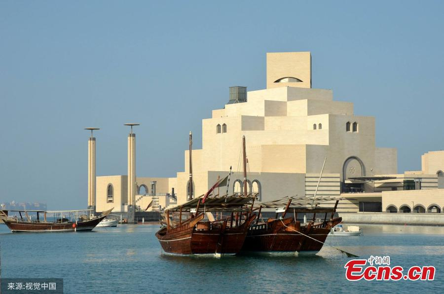The Museum of Islamic Art in Qatar, designed by Chinese-born U.S. Architect I.M. Pei. World-renowned architect Ieoh Ming Pei, commonly known as I.M. Pei, has died at age 102. Pei was born in Guangzhou, China, and raised in Hong Kong and Shanghai, before moving to the United States in 1935. He won a wide variety of prizes and awards in the field of architecture. (Photo/VCG)