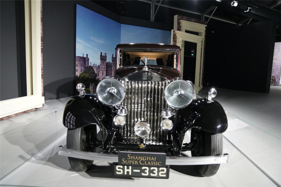 The Rolls-Royce 20/25 was the second of Rolls-Royce Ltd\'s pre-war entry level models. (Photo/chinadaily.com.cn)