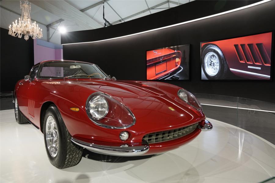 A GTB/4 by Ferrari.  (Photo/chinadaily.com.cn)