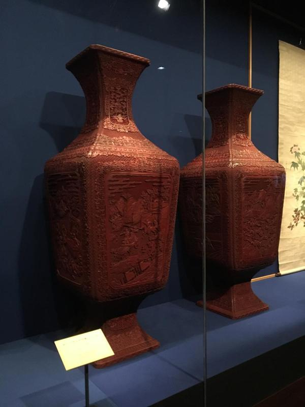78 artifacts from the collection of the Vatican Museums are on show at the Palace Museum. (Photo/China Daily)
