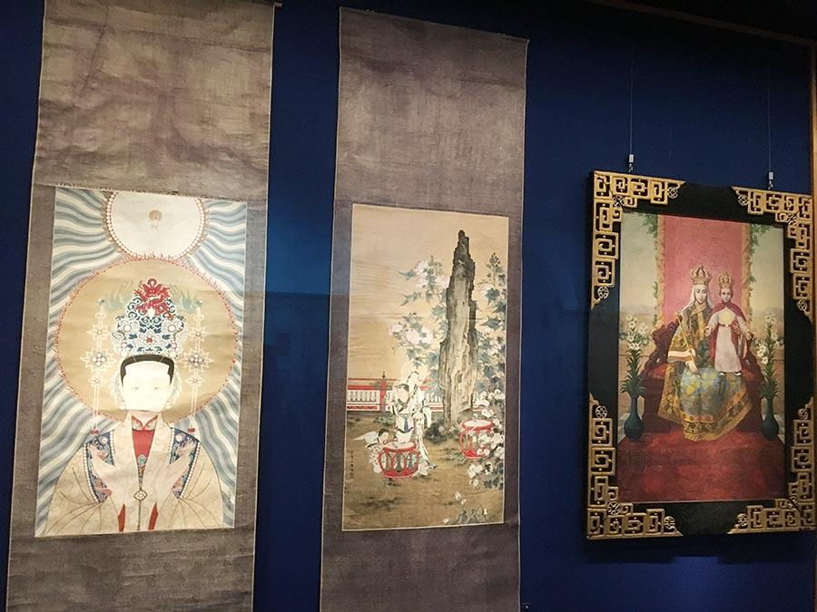 Beauty Unites Us: Chinese Art from the Vatican Museums, the first exhibition of Chinese artifacts on loan from Vatican, opened in the Palace Museum in Beijing on May 28.  (Photo/China Daily)