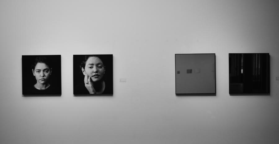 A selection of the works on display at the Art of Aging photography exhibition held at the IWE Art Museum in Kunming city, Southwest China\'s Yunnan Province, May 25, 2019. (Photo provided to chinadaily.com.cn)
