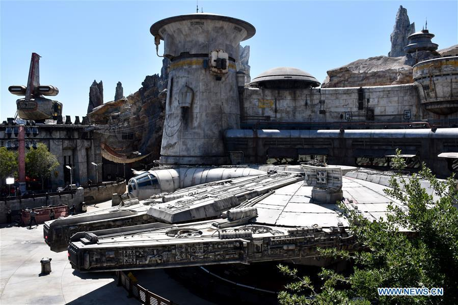 Millennium Falcon: Smugglers Run ride, is seen in the new \