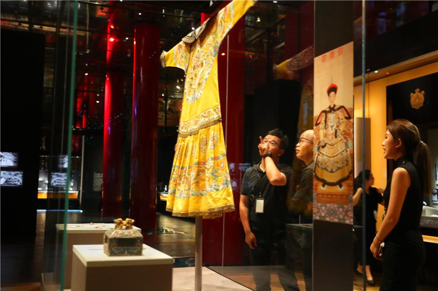 The Palace Museum and Cartier host one of the cultural institution\'s largest shows on the theme of craftsmanship and restoration over the centuries. (Photo provided to China Daily)