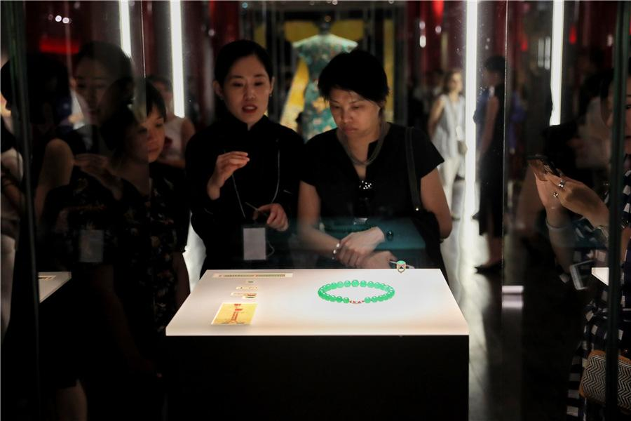 <?php echo strip_tags(addslashes(The Palace Museum and Cartier host one of the cultural institution's largest shows on the theme of craftsmanship and restoration over the centuries. (Photo provided to China Daily)