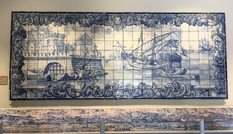 <?php echo strip_tags(addslashes(Attack on the Fortress, an azulejo panel from between 1730 and 1750 on display at the Beijing exhibition, shows Chinese blue-and-white porcelain's influence on the Portuguese art form. (Photo by WANG KAIHAO/CHINA DAILY) 