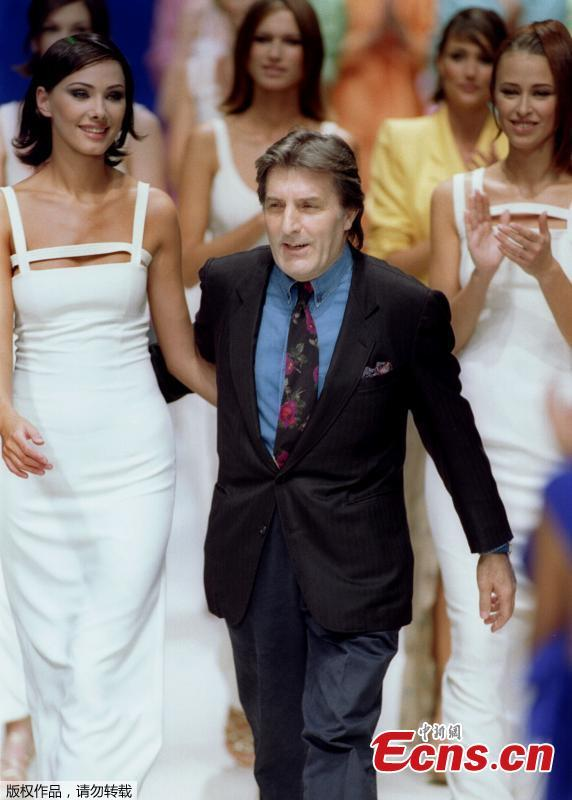 French Fashion Designer Emanuel Ungaro Dies At 86 Ecns Cn