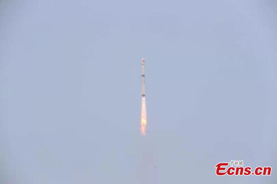 - d8c434e7078e44cabb1a9d4244647c4a - China launches new satellite for space environment survey