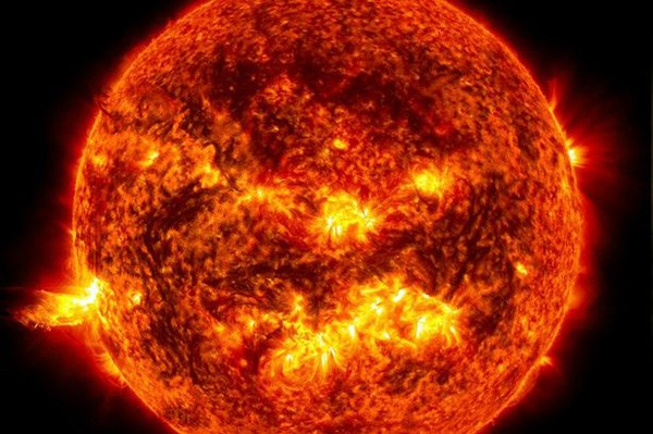 The sun has 'gone blank' and there could be another ice age on the way