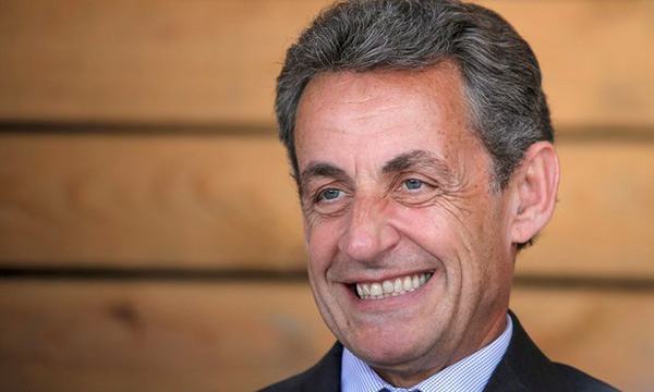 Nicolas Sarkozy declares candidacy for French presidential election