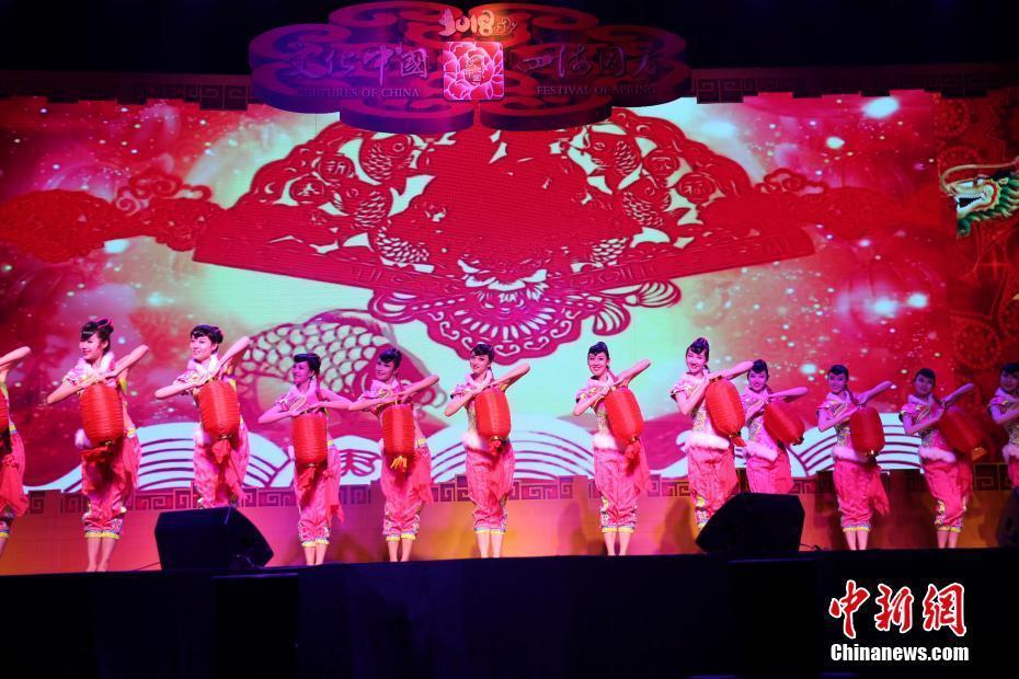 Spring Festival gala staged in southern Thailand for overseas Chinese, Thais