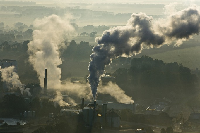 Pollution? Blame uptick in production