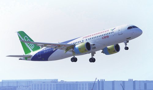 C919 plans to test-flight six aircraft