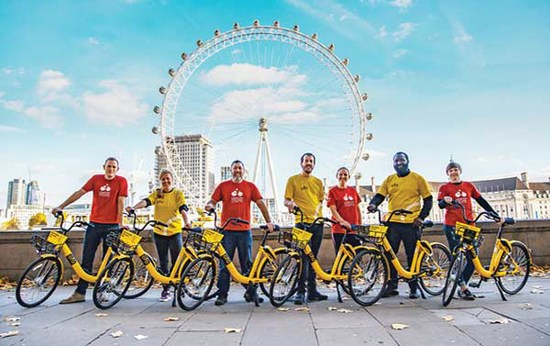 Ofo tops global bike-sharing market, growth potential huge: report