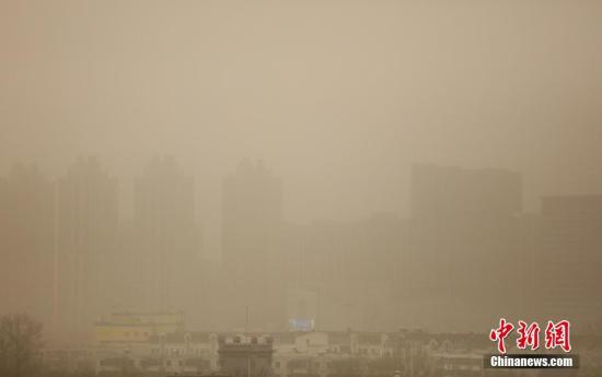 Blue alert issued as sandstorms blanket Beijing