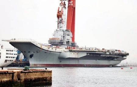 China's new carrier set for sea trials: experts
