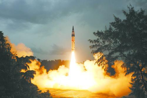 India test-fires nuclear capable ballistic missile