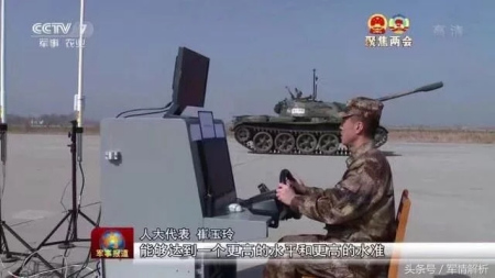 Media footage shows Chinese unmanned tanks now in testing stage