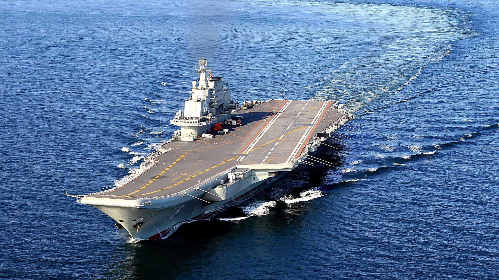 Work underway to enhance capabilities of China's aircraft carrier Liaoning